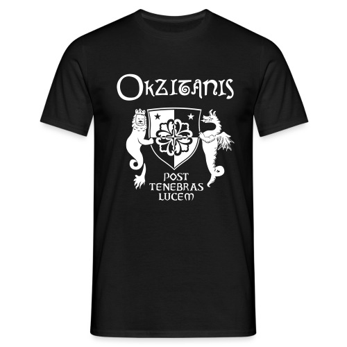 OKZITANIS WAPPENSPRUCH - Männer T-Shirt