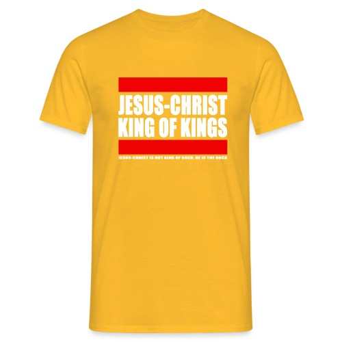 Jesus Christ King of kings 3 - T-shirt Homme