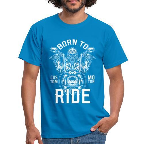 Born To Ride Black Tazzum - Camiseta hombre