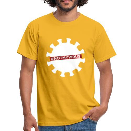 NotMyVirus White - T-shirt Homme