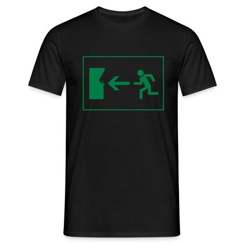 Notausgang - Männer T-Shirt