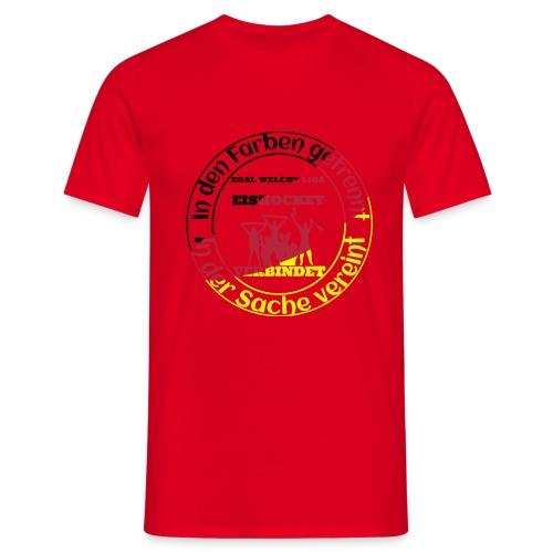 Eishockey verbindet - Männer T-Shirt