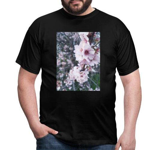 Vetement avec image fleurs de sakura - T-shirt Homme