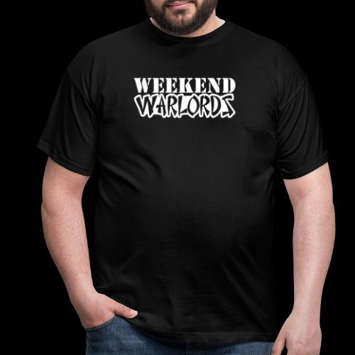 WEEKEND WARLORDS_WHITE on - Men's T-Shirt