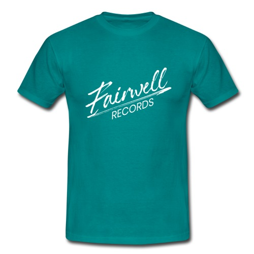 Fairwell Records - White Collection - Herre-T-shirt