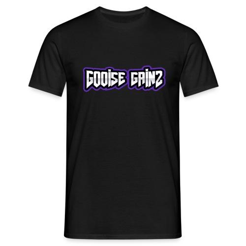 gooise gainz tekst - Mannen T-shirt