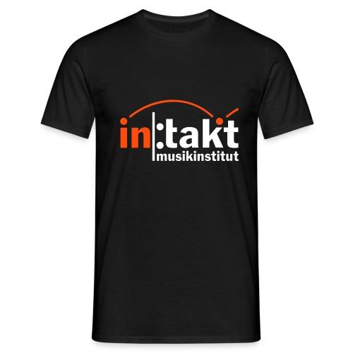 intakt Logo invert - Männer T-Shirt
