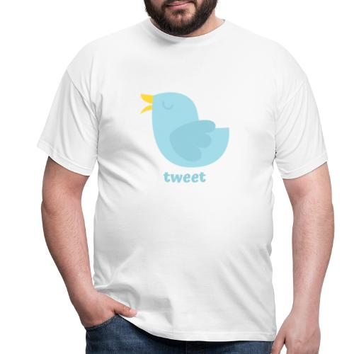 tweet - Herre-T-shirt
