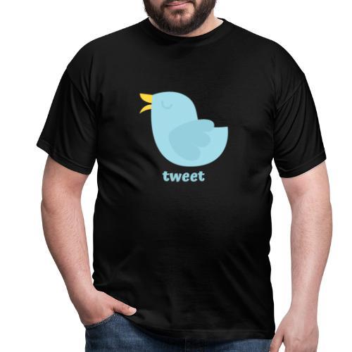 tweet - Herre-T-shirt