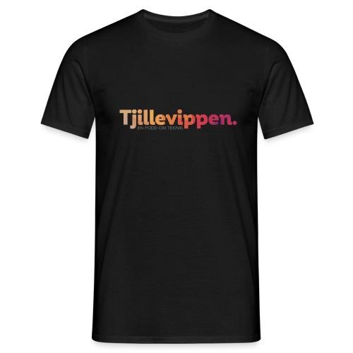 En podd om teknik - Second Edition Black - T-shirt herr