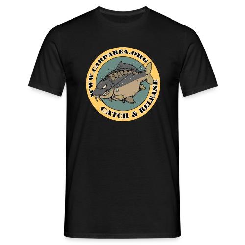 Carparea Logo (Fisch in Farbe) - Männer T-Shirt