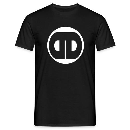 DDz Logo White - No Text - Men's T-Shirt