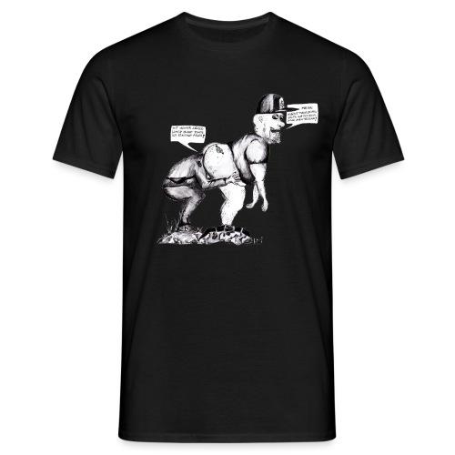 Tunnelratte - Männer T-Shirt