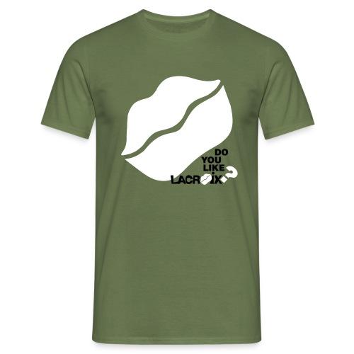 doyoulike tshirt grigia png - Men's T-Shirt