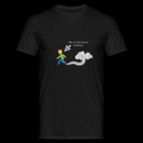 MeOnTheWayToHoliday - Männer T-Shirt