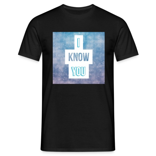 I_Know_You Logo - Männer T-Shirt
