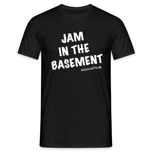 JazzrockTV - Jam In The Basement (einfach) - Männer T-Shirt