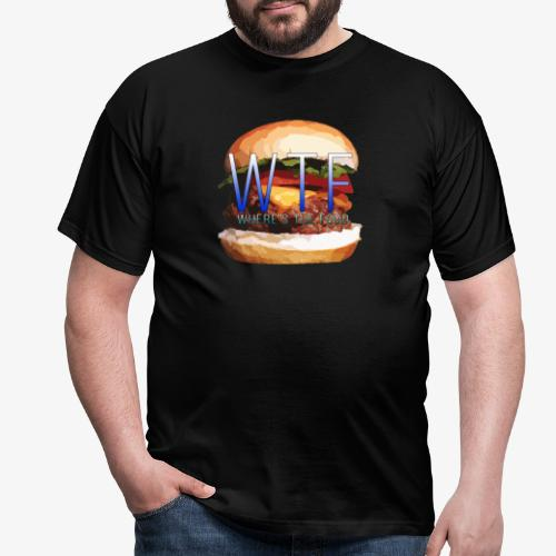 Where's my food - T-shirt Homme