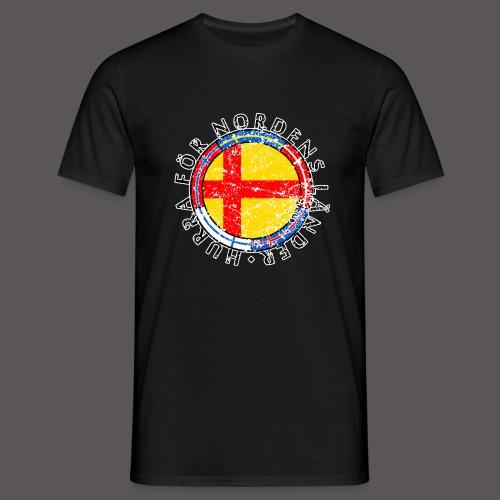 Hurra för Nordens länder2 - T-shirt herr