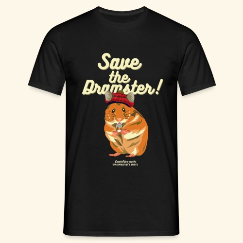 Whisky T Shirt Save the Dramster! - Männer T-Shirt