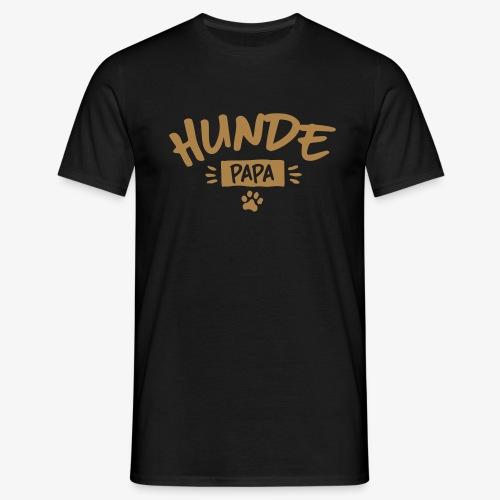 Hunde Papa - Männer T-Shirt