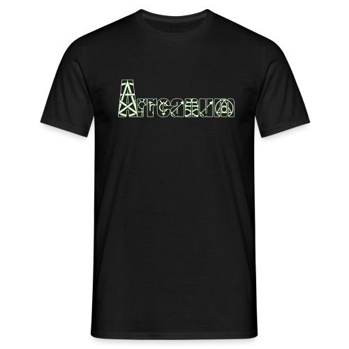 Arrcanum Logo Schrift neu - Männer T-Shirt