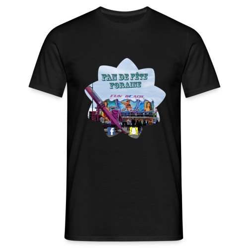 Fan de fête foraine - T-shirt Homme