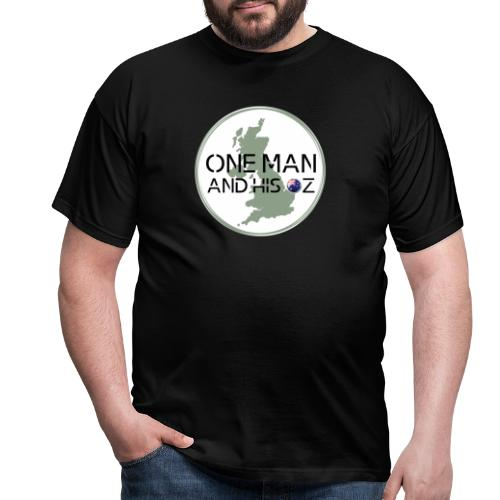 One Man and his Oz logo - Men's T-Shirt