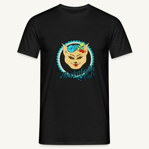 Rockabilly Cat - Männer T-Shirt