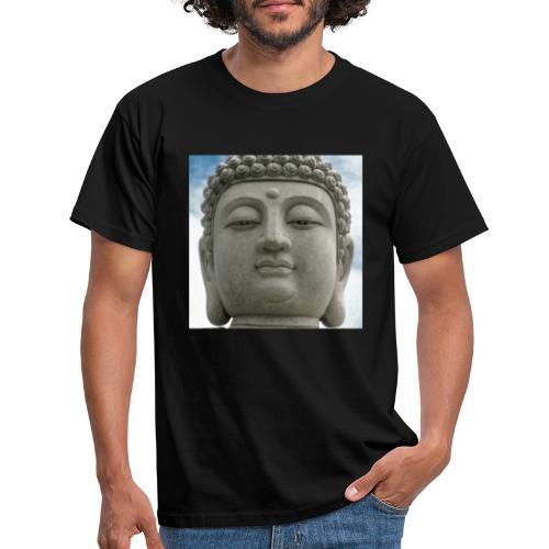 cabeza de buda - Camiseta hombre