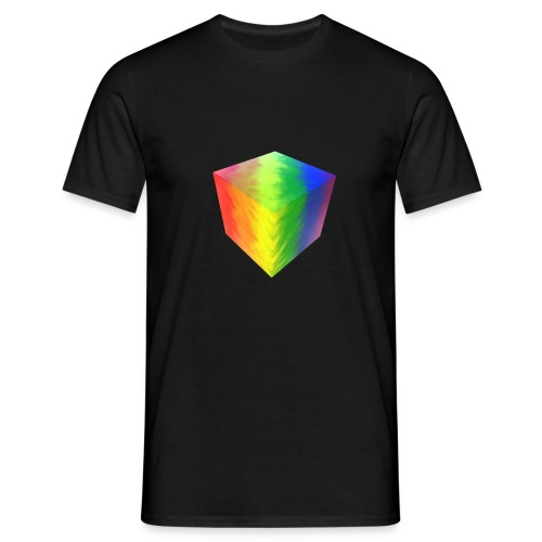 Pride Cube - T-skjorte for menn