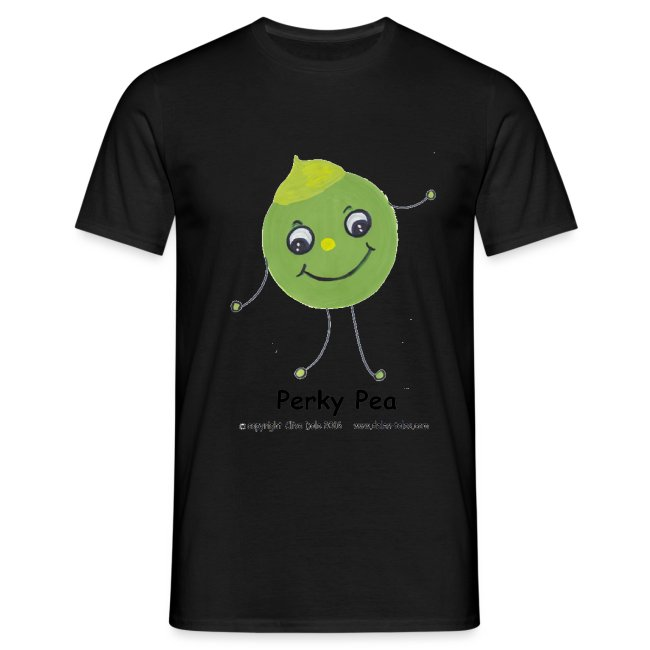 Perky pea with transparent background copyright