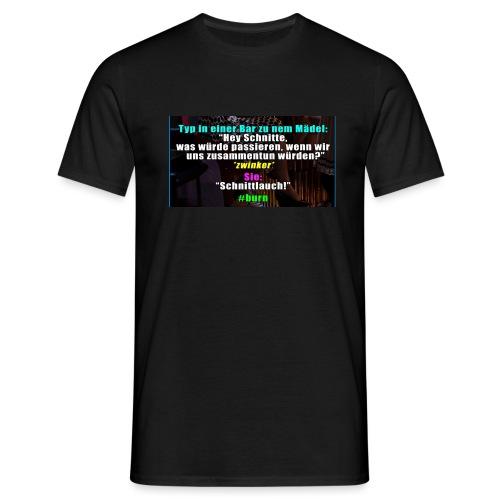 SchnitLauch - Männer T-Shirt