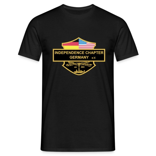 Indis Logo bunt - Männer T-Shirt