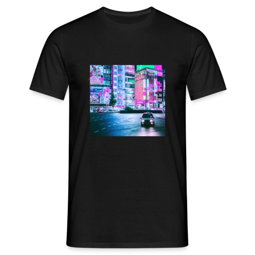 Pink City - T-shirt herr