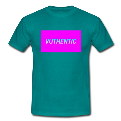 VUTHENTIC LOGO - Men's T-Shirt