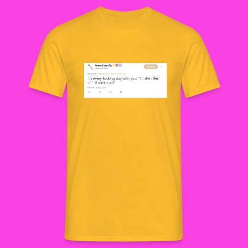 Ieuan Tweet - Men's T-Shirt