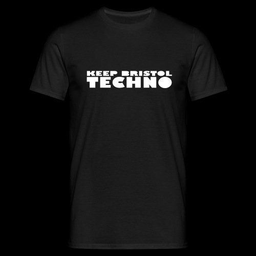 KEEP BRISTOL TECHNO LOGO 1 - Men's T-Shirt