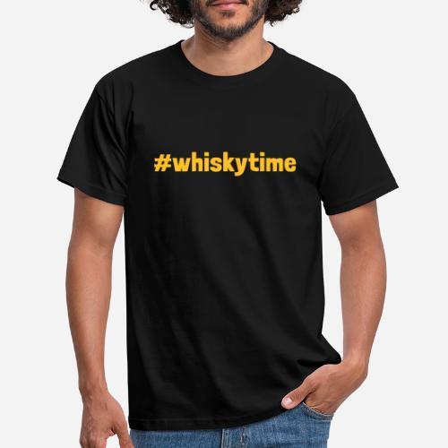 whiskytime   Whisky Time - Männer T-Shirt