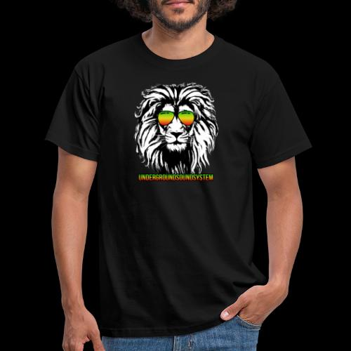 RASTA REGGAE LION - Männer T-Shirt