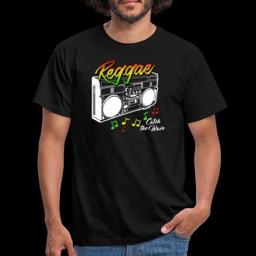 Reggae - Catch the Wave - Männer T-Shirt