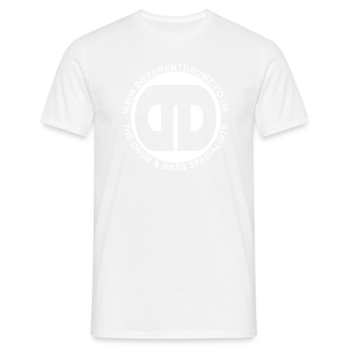 full logo white - Men's T-Shirt