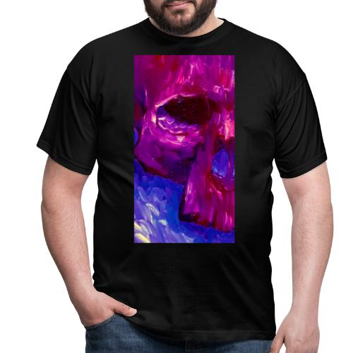 Purple Skull #2 - Mannen T-shirt