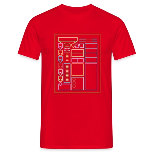 Dnd-merkkilehti - DnD Dungeons & Dragons D & D - Miesten t-paita