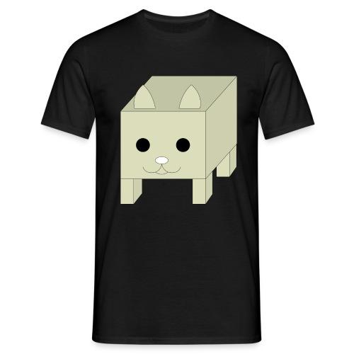 box cat - Mannen T-shirt