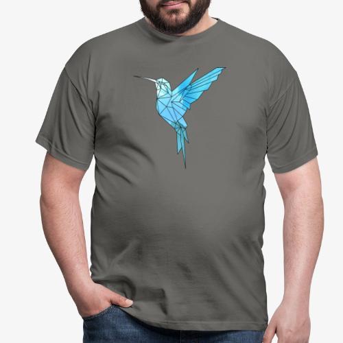 Kolibri Geometrisch - Männer T-Shirt
