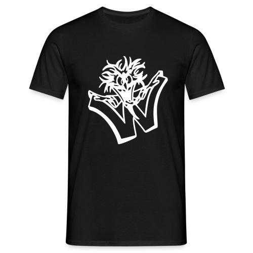 w wahnsinn - Mannen T-shirt