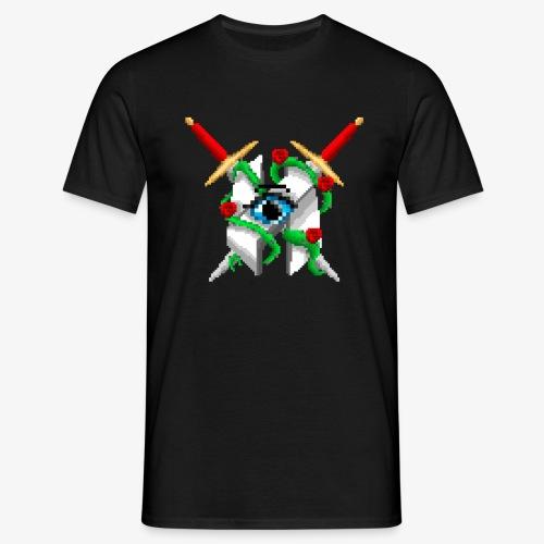 Hault Swords & Roses - Men's T-Shirt