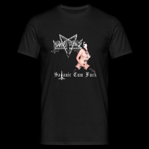 SATANIC CUM FUCK png - Men's T-Shirt