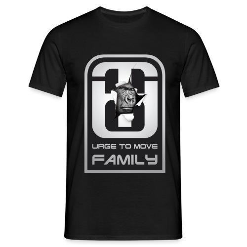 utm family Logo mit gorilla shirt4 png - Männer T-Shirt